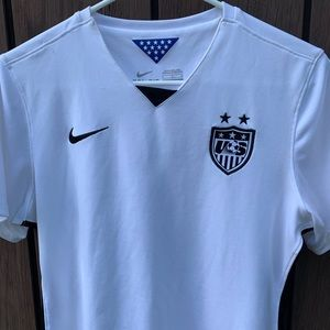 Nike USA Soccer Jersey- Large
